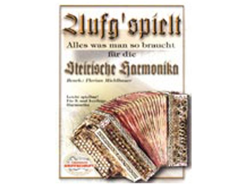 Echo Musikverlag, AUFG'SPIELT, 3- und 4-reihige Harmonika