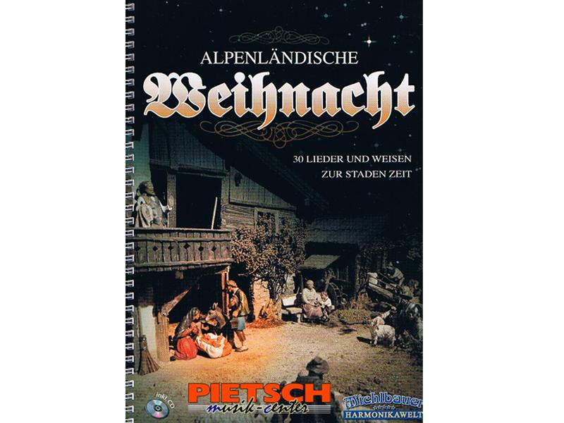 Echo Musikverlag, Alpenl'ndische Weihnacht, f'r Steirische Harmonika