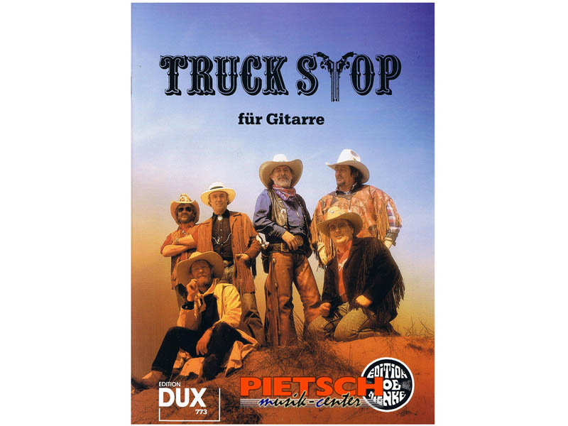 Edition Dux 773, TRUCK STOP f'r Gitarre, Songbook