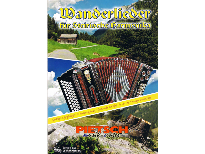 Verlag Purzelbaum, Wanderlieder, f'r Steirische Harmonika