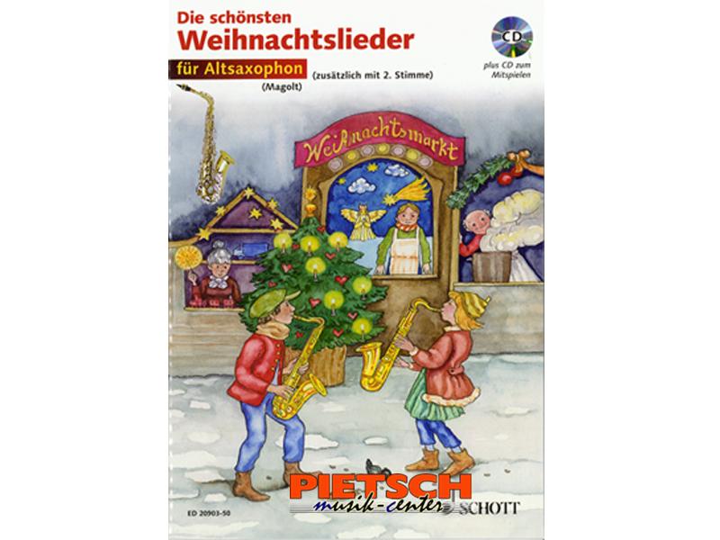 Schott Musikverlag Die schönsten Weihnachtslieder Weihnachtsbücher ...