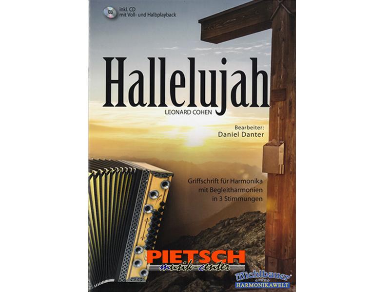 Michlbauer Harmonikawelt Leonard Cohen Hallelujah Liederbücher für ...